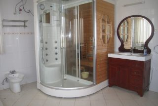 The Bathroom of the 4 Bedroom Furnished Home in West of Arusha by Tanganyika Estate Agents