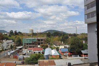 The View from the Offices to Rent in Arusha CBD by Tanganyika Estate Agents