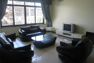 Living Room of the Three Bedroom Furnished Apartments in Masaki, Dar es Salaam by Tanganyika Estate Agents