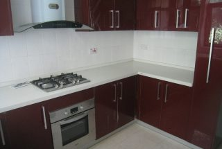 Kitchen of the Three Bedroom Furnished Apartments in Masaki, Dar es Salaam by Tanganyika Estate Agents