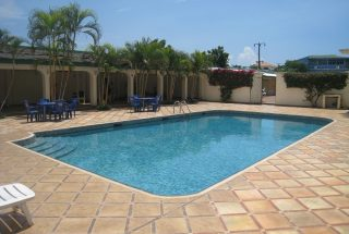 Swimming Pool of the Three Bedroom Furnished Apartments in Masaki, Dar es Salaam by Tanganyika Estate Agents
