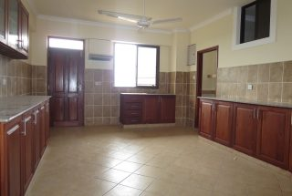 Kitchen of the 3 Bedroom Furnished Apartment in Upanga, Dar es Salaam by Tanganyika Estate Agents