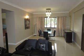 Living Room in the 2 Bedroom Furnished Apartments in Masaki by Tanganyika Estate Agents