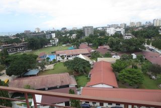 A View from the 3 Bedroom Furnished Apartment in Upanga, Dar es Salaam by Tanganyika Estate Agents