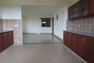 The Kitchen of the 3 Bedroom Furnished Apartment in Upanga, Dar es Salaam by Tanganyika Estate Agents