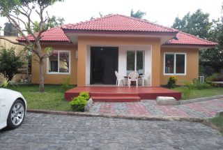 Front View of the Two Bedroom Furnished House in Masaki, Dar es Salaam by Tanganyika Estate Agents