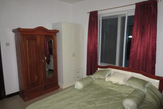 Bedroom of the Two Bedroom Furnished House in Masaki, Dar es Salaam by Tanganyika Estate Agents