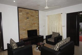 Living Room of the Two Bedroom Furnished House in Masaki, Dar es Salaam by Tanganyika Estate Agents