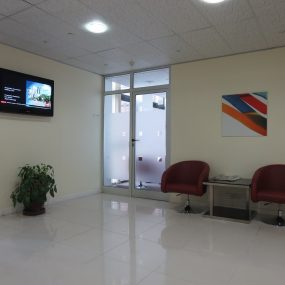 Reception of the Fully Serviced Offices in Dar Es Salaam CBD by Tanganyika Estate Agents