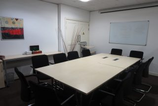 Meeting Room of the Fully Serviced Offices in Dar Es Salaam CBD by Tanganyika Estate Agents
