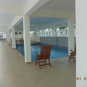 Swimming Pool of the 1 & 3 Bedroom Furnished Apartments in Masaki, Dar es Salaam by Tanganyika Estate Agents