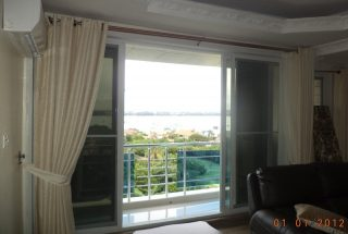 The Balcony of the 1 & 3 Bedroom Furnished Apartments in Masaki, Dar es Salaam by Tanganyika Estate Agents
