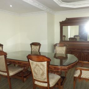 Dining Room of the 1 & 3 Bedroom Furnished Apartments in Masaki, Dar es Salaam by Tanganyika Estate Agents
