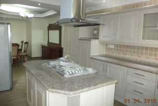 Kitchen of the 1 & 3 Bedroom Furnished Apartments in Masaki, Dar es Salaam by Tanganyika Estate Agents