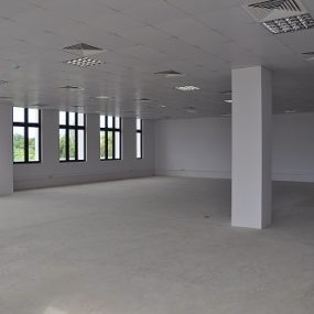 An Empty Floor of the Office Space in Msasani Dar es Salaam by Tanganyika Estate Agents