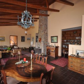 Dining & Living Room of the 3 Bedroom Furnished House for Sale in Usa River, Arusha by Tanganyika Estate Agents