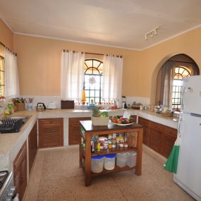 Kitchen of the 3 Bedroom Furnished House for Sale in Usa River, Arusha by Tanganyika Estate Agents