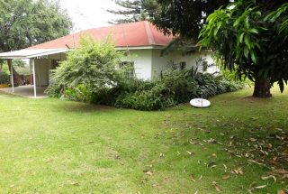 Garden of the Three Bedroom House Rental on Themi Hill, Arusha by Tanganyika Estate Agents