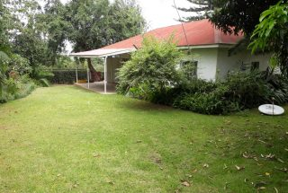 Side View of the Three Bedroom House Rental on Themi Hill, Arusha by Tanganyika Estate Agents