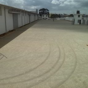 Parking area of the Warehouses for Rent in Dar es Salaam Mbagala, by Tanganyika Estate Agents