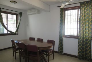 Dining Room of the Four Bedroom House in Masaki, Dar es Salaam by Tanganyika Estate Agents
