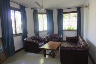 Living Room of the Four Bedroom House in Masaki, Dar es Salaam by Tanganyika Estate Agents