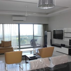 Living Room of the Two Bedroom Furnished Apartment in Upanga Dar es Salaam by Tanganyika Estate Agents