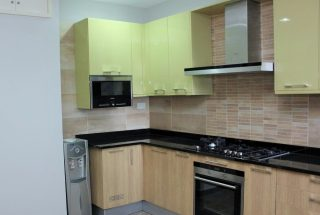 Kitchen of the Two Bedroom Furnished Apartment in Upanga Dar es Salaam by Tanganyika Estate Agents