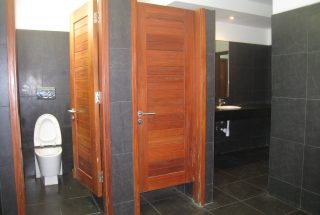 Bathrooms of the Offices for Rent in Dar es Salaam's CBD by Tanganyika Estate Agents