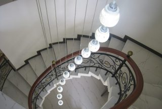 Spiral Staircase of the 4 Bedroom Furnished Apartments Ada Estate, Dar Es Salaam by Tanganyika Estate Agents