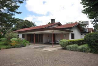 The Front View of the Four Bedroom Furnished House in Olorien by Tanganyika Estate Agents