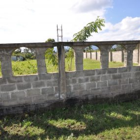 The Wall Surrounding the Land for Sale in Njiro Block C, Arusha by Tanganyika Estate Agents
