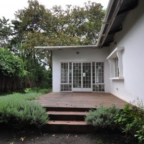 Back Veranda of the Four Bedroom House for Rent in Usa River, Arusha by Tanganyika Estate Agents