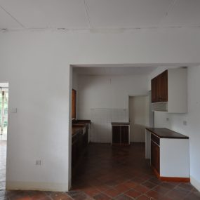 Open Plan Kitchen of the Four Bedroom House for Rent in Usa River, Arusha by Tanganyika Estate Agents