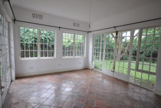 The Veranda of the Four Bedroom House for Rent in Usa River, Arusha by Tanganyika Estate Agents