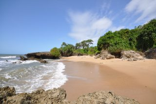 Beach of the 4 Bedroom Villa for Sale in Choba Bay by Tanganyika Estate Agents