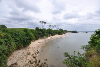 The Beach on the Beachfront Land in Kikokwe by Tanganyika Estate Agents