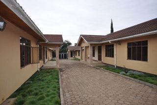 Drive way between the Three Bedroom Furnished Houses in Arusha by Tanganyika Estate Agents