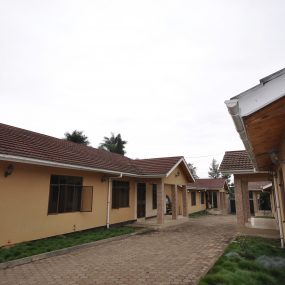 Drive way and the Three Bedroom Furnished Houses in Arusha by Tanganyika Estate Agents