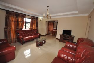 Living Room the Three Bedroom Furnished Houses in Arusha by Tanganyika Estate Agents