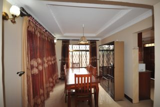 Dining Room of the Three Bedroom Furnished Houses in Arusha by Tanganyika Estate Agents