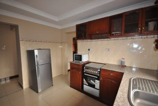 Kitchen of the Three Bedroom Furnished Houses in Arusha by Tanganyika Estate Agents