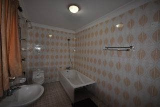 A Bathroom of the Three Bedroom Furnished Houses in Arusha by Tanganyika Estate Agents