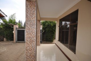 A Veranda of the the Three Bedroom Furnished Houses in Arusha by Tanganyika Estate Agents