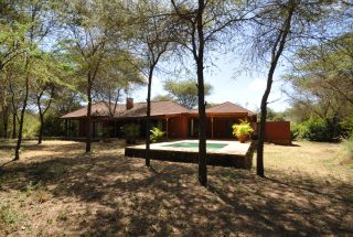 Pool in Front of the Four Bedroom House for Sale in Kili Golf, Arusha by Tanganyika Estate Agents