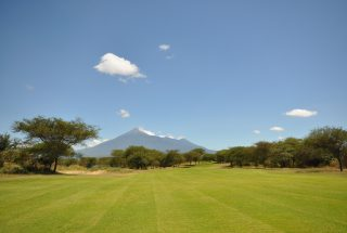 View of mt. Kilimanjaro from the Three Bedroom House for Sale in Kili Golf by Tanganyika Estate Agents