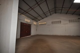 The Door from the inside of the Warehouse for Rent in Nane Nane, Arusha by Tanganyika Estate Agents