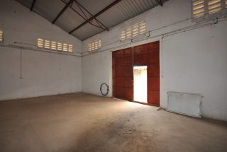Open Door of the Warehouse for Rent in Nane Nane, Arusha by Tanganyika Estate Agents