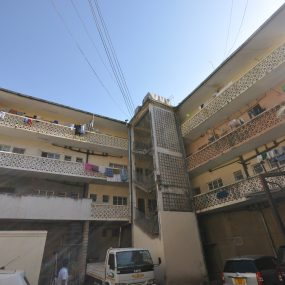 The Entrance & Parking of the Commercial Building for Sale in Arusha CBD by Tanganyika Estate Agents