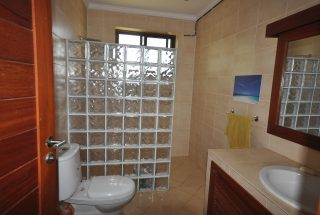 A Bathroom of the Five Bedroom Furnished Home for Rent in Arusha by Tanganyika Estate Agents